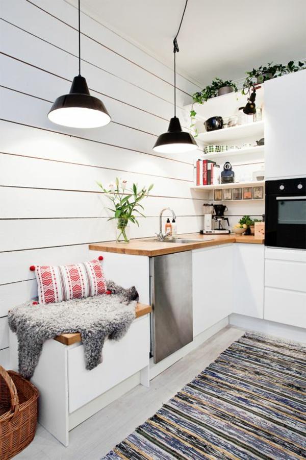 skandinavische möbel küchenideen holz arbeitsplatte
