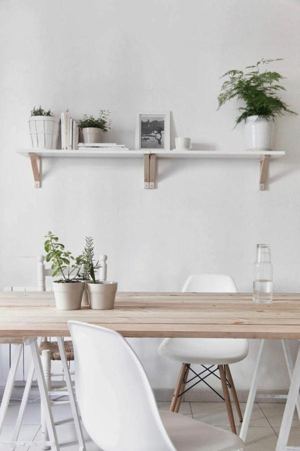 Skandinavisch einrichten manimalistisches design ist for Esstisch skandinavisches design