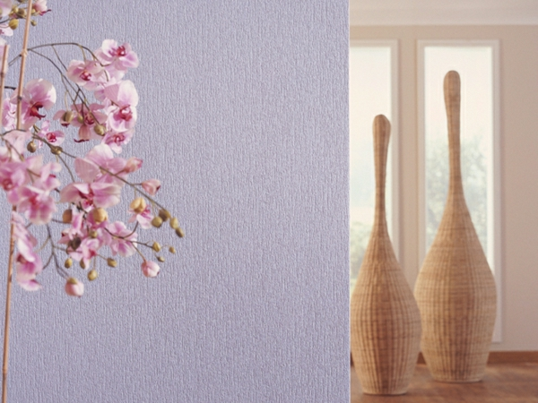 Vliestapeten Richtig Tapezieren : vliestapeten kleben wandgestaltung ideen lila vliestapete tapezieren