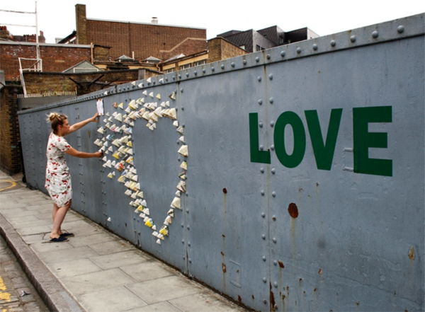 wanddeko ideen graffiti künstlerin anna garforth