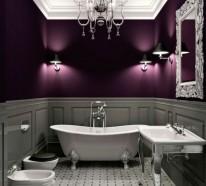 Wandfarbe Badezimmer - Frische Ideen Für Kleine Räumlichkeiten Wandfarbe Badezimmer