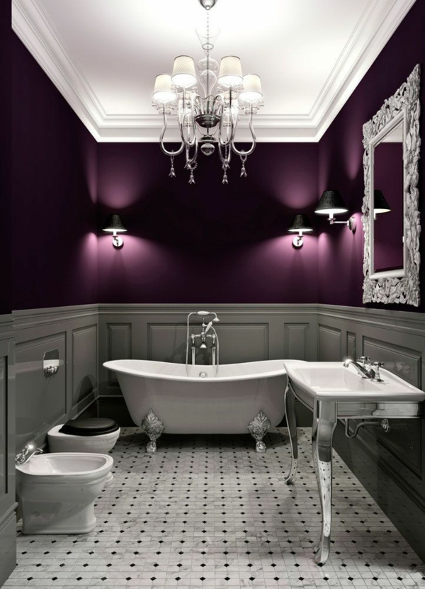 Wandfarbe Badezimmer   Frische Ideen Für Kleine Räumlichkeiten