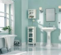 Wandfarbe Badezimmer – frische Ideen für kleine Räumlichkeiten