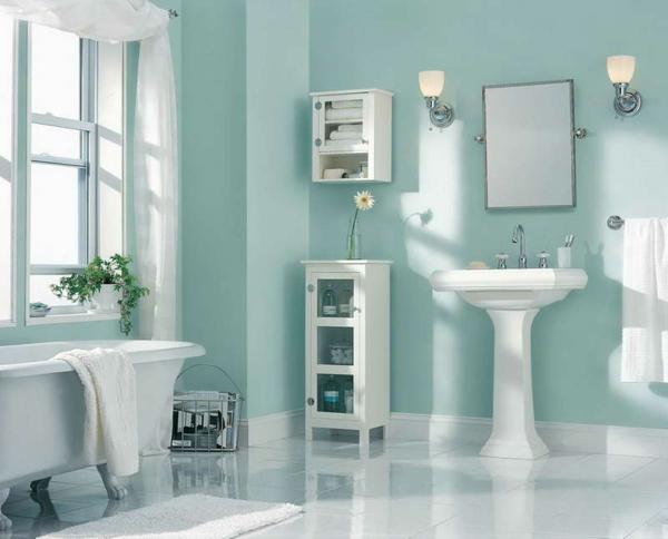 Wandfarbe Badezimmer Frische Ideen Fr Kleine Rumlichkeiten