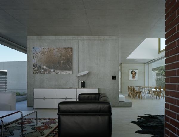 wandfarbe beton farbe wände streichen