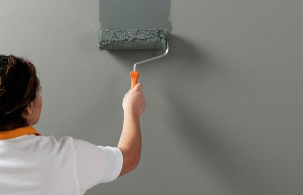 wandfarbe betonwände streichen betonoptik beton streichen