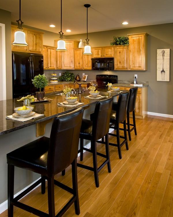 wandfarbe grau einrichtung küche wandfarbe hellgrau
