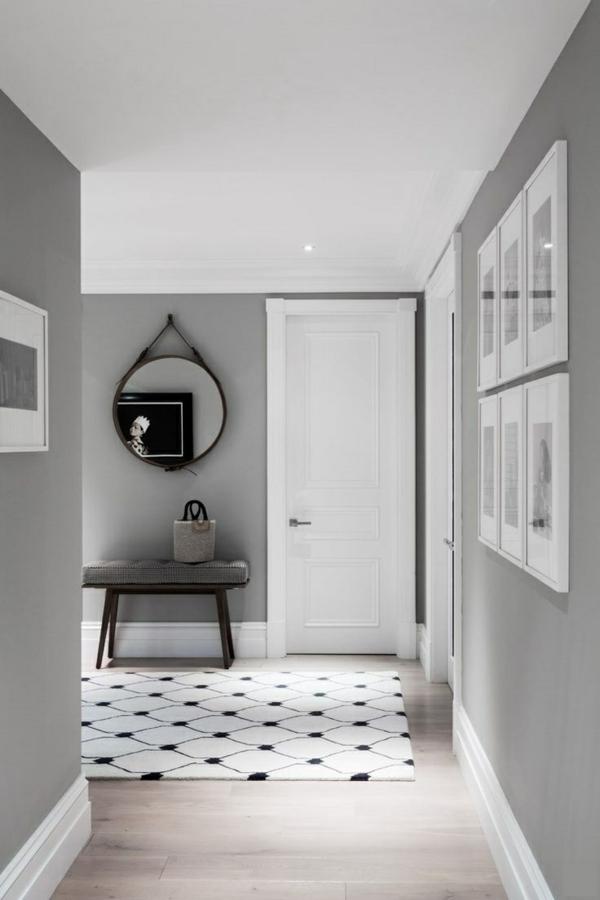 wandfarbe grau: 29 ideen für die perfekte hintergrundfarbe in ... - Wandfarbe Grau Beige
