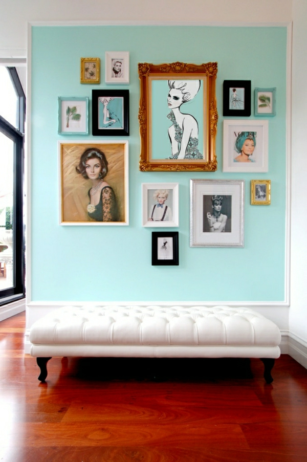 wandfarben bilder - 40 inspirierende beispiele - Wandfarbe Ideen