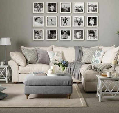 wandgestaltung wohnzimmer - 20 kreative wanddeko ideen, Deko ideen