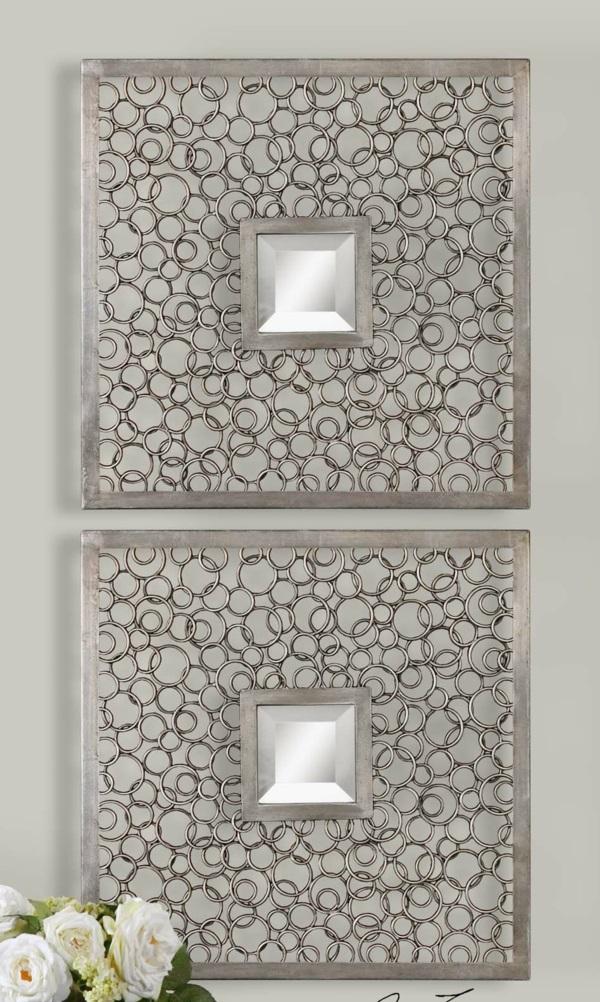 Wandspiegel in Silber antik silber barockstil rahmen stücke