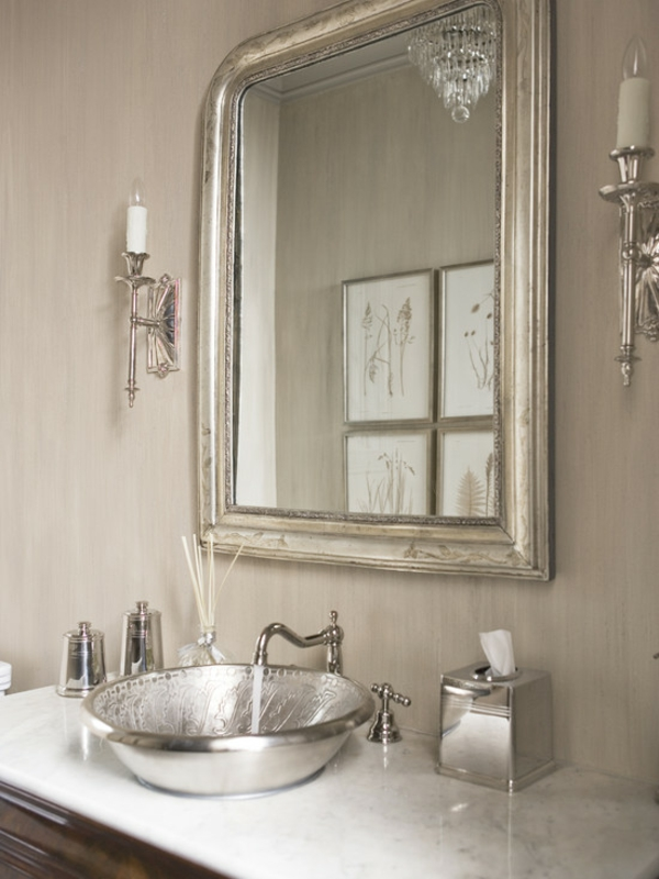 Gestaltung Großer Flur : Flur Gestaltung mit Barock Wandspiegel und Parkett