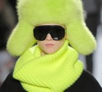Lustige, gestrickte Wintermützen für Damen und Herren