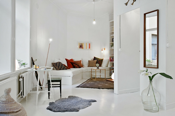 Skandinavisch einrichten manimalistisches design ist for Wohnung minimalistisch einrichten