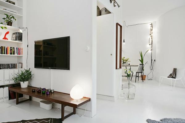 Skandinavisch einrichten manimalistisches design ist for 50m2 wohnung einrichten