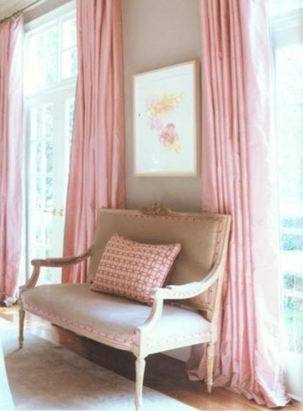 romantische vorhänge | möbelideen - Vorhang Wohnzimmer Modern