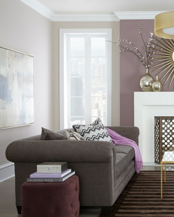 wandfarbe grau die perfekte hintergrundfarbe in jedem raum. Black Bedroom Furniture Sets. Home Design Ideas