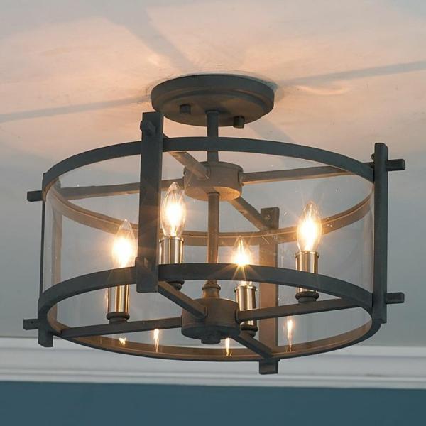 Wohnzimmerlampen Kolonialmbel Deckenleuchten Metall
