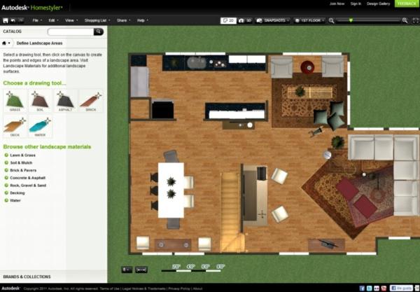 3d Raumplaner Autodesk Homestyler Wohnzimmerplaner Kostenlos