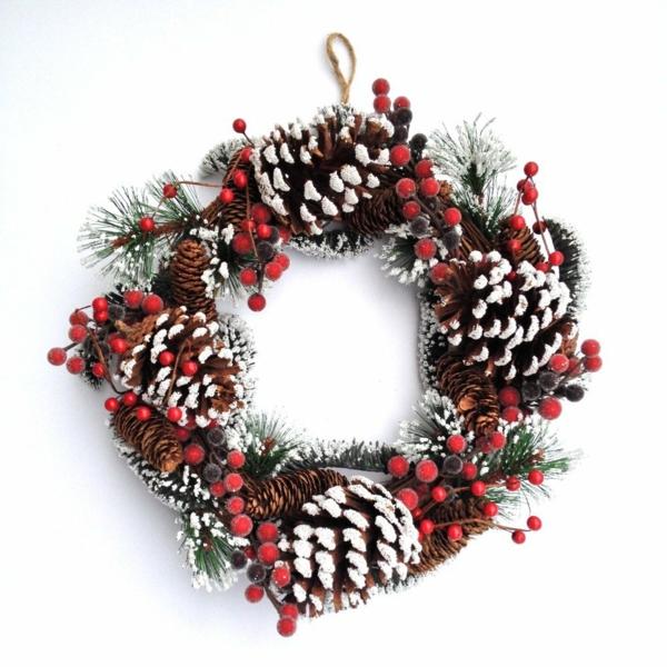 Holz Kerzenhalter Christbaum ~ Bastelidee für Weihnachten Moderne Weihnachtsdeko kranz