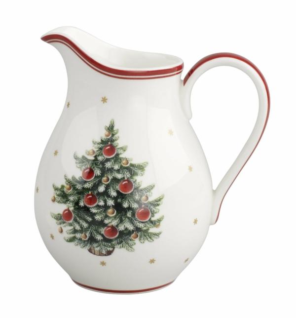 Weihnachten tolle Weihnachtsdeko teekanne