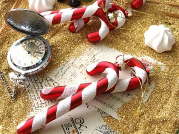 glanz stangen Moderne Weihnachtsdeko zucker
