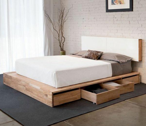 DIY Betten aus Holzpaletten