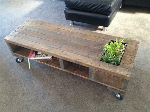 Diy Esstisch Palette ~ 40 DIY Möbel aus alten Paletten fürs Zuhause und den Garten