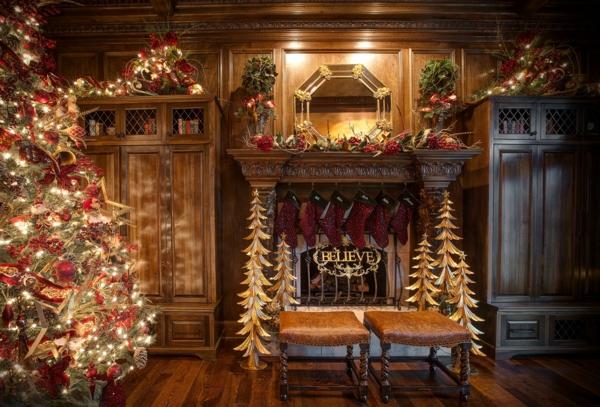 lichter Girlanden zu Weihnachten glauben wundern