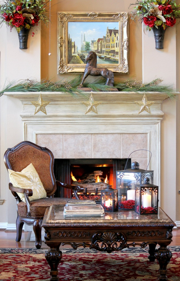 deko girlanden zu weihnachten selber basteln. Black Bedroom Furniture Sets. Home Design Ideas