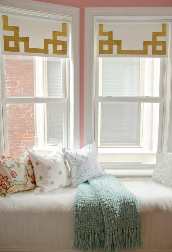 fenstergestaltung mit gardinen wohnzimmer. Black Bedroom Furniture Sets. Home Design Ideas
