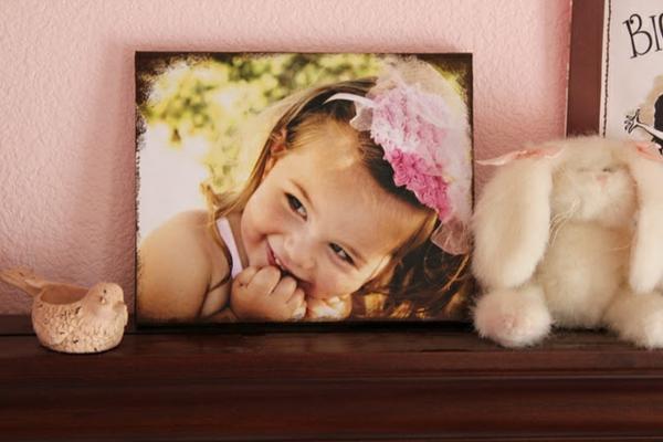 Fotos auf Leinwand selber machen diy