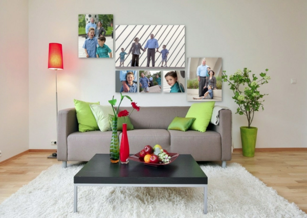 100 fotocollagen erstellen fotos auf leinwand selber machen. Black Bedroom Furniture Sets. Home Design Ideas