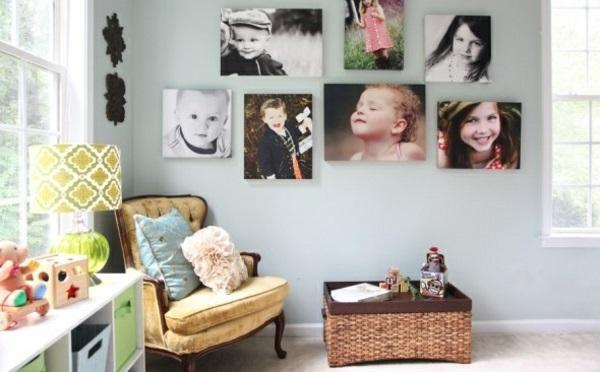 Fotos erstellen bilder auf Leinwand selber machen gestalten