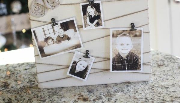 Fotos Leinwand selber machen hängend