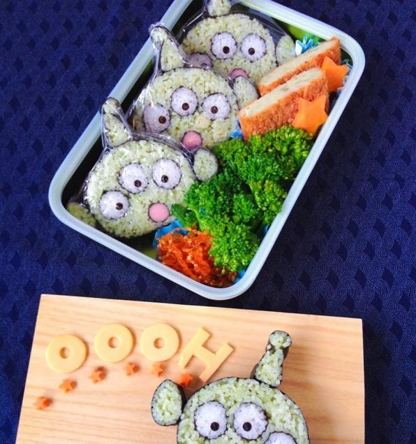 Gerissene alien Sushi Arten außererdsische