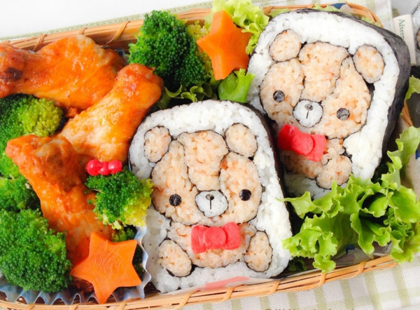 Gerissene kinder freude Sushi selbst machen Arten bäre süß