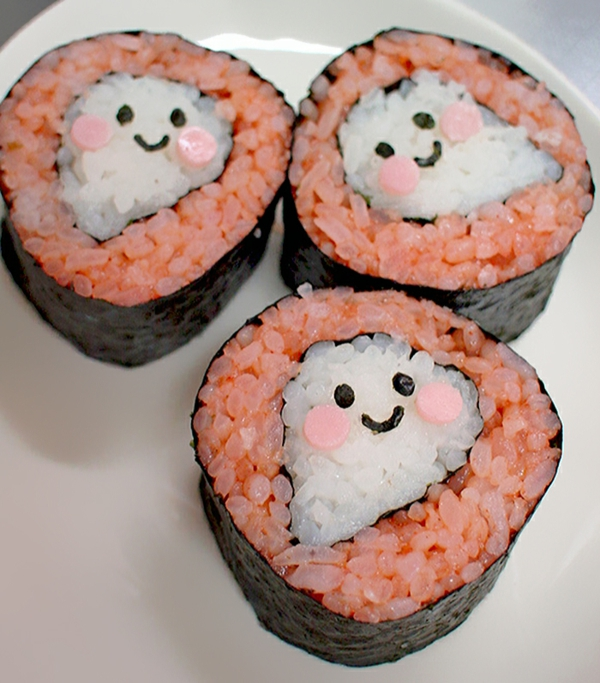 Gerissene Sushi selbst machen Arten geister toll