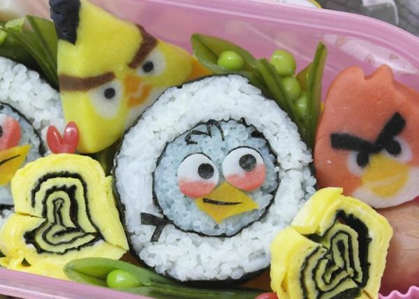 Gerissene obst früchte Sushi Arten ideen design