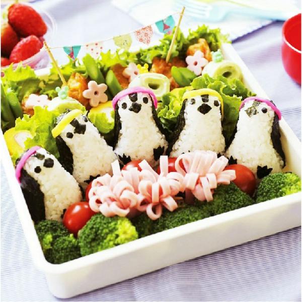 Sushi tolle moderne Arten pinguinen