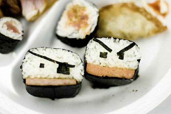 Gerissene Sushi einäugig Arten piraten