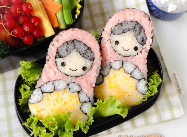 Sushi selber machen Arten russisch stücke