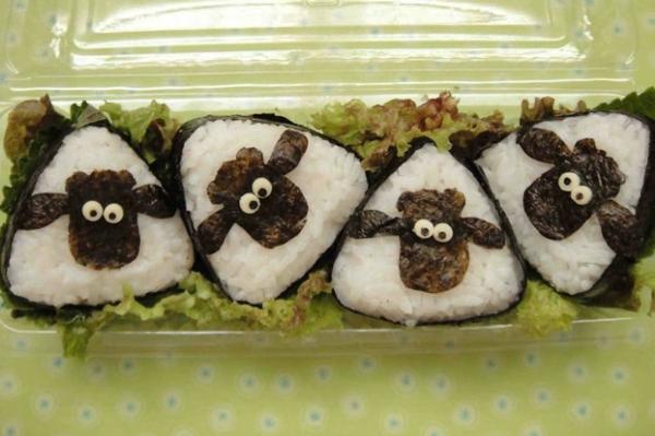 Gerissene Arten sushi selbst machenSushi schafe