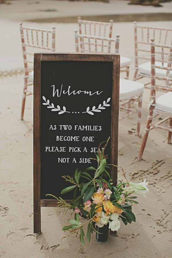 Hochzeitsfeier Ideen hochzeitsdeko selber machen menü