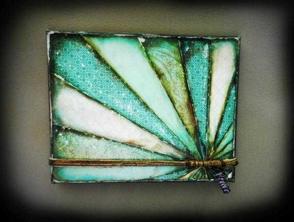 Leinwand bilder selber gestalten diy farben glas