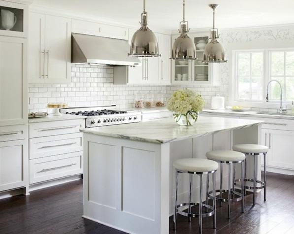 Moderne Küchen freistehend glanz Kochinsel küchenblock