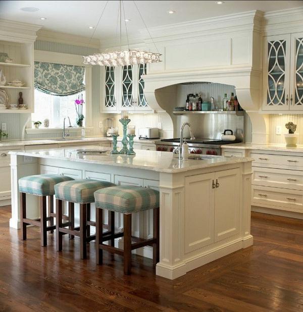Landhausküchen mit kochinsel  90 moderne Küchen mit Kochinsel ausgestattet
