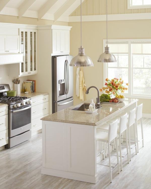 Kitchen Countertops Upgrade: 90 Moderne Küchen Mit Kochinsel Ausgestattet