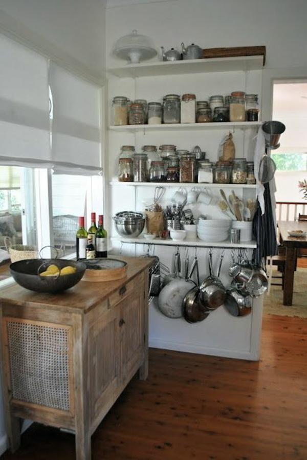 90 moderne Küchen mit Kochinsel ausgestattet | {Küchenblock freistehend rustikal 4}