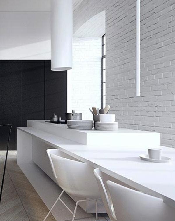 Kochinsel küchenblock freistehend weiß simpel
